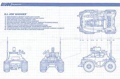 G.I.Joe Badger Blueprint