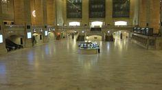 New York Central Station: Sandy ist im Anmarsch, der Bahnhof leer.