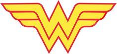 Resultado de imagen para wonder woman logo png