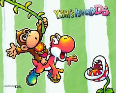 free screensaver wallpapers for yoshis island ds - yoshis island ds category