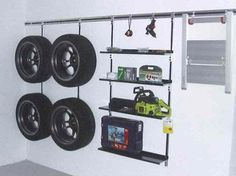Wo, Was, Wohin? Garage Organization, Garage Storage, Organizing, Home Improvement, Diy, Cleanse, Metal, Health, Carport Garage