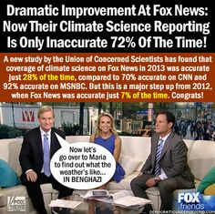 Dramatic Improvement At Fox News!