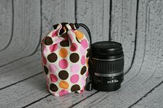 Dslr Camera Lens Storage Cozy Coat Pouch by TJCameraAccessories, $15.00