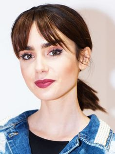 lily with a fringe