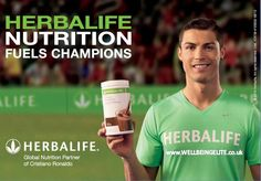 Cristiano Ronaldo Herbalife.     Find me on Instagram areason4stars   Katerine_warren86@yahoo.com