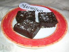 Brownies aux noix - Recette de cuisine Marmiton : une recette