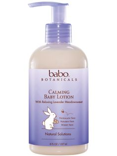 Calming Baby Lotion With Relaxing Lavender Meadowsweet - Babo Botanicals BABO-8022