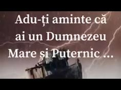 Avem un Dumnezeu Mare și Puternic | We have a Great and Powerful God | Cristina - YouTube God, Youtube, Dios, Allah, Youtubers, Youtube Movies, The Lord