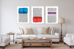 Soft Colors DIY Wall Art Set of 3 - Living Room Decor - Vector Wall Art - Printable Wall Art - Whimsical Art Set of 3 Prints - Abstract Art DIGITAL DOWNLOAD. Minimalistic Water Colors Abstract Wall Art, Printable up to 24x 36 inch. Printable Original Artwork Handmade by me is available for instant Living Room Decor Etsy, Living Room Art, Wall Art Sets, Diy Wall Art, Modern Wall Decor, Living Room Inspiration, Soft Colors, Cheap Home Decor, Wall Colors