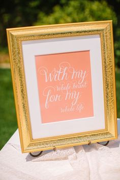 Quotes About Wedding & Love: gift table sign ideas www.weddingchicks
