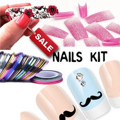 DIY Nails Art Tools Kit Set for Nails Tips SALE by Craftasy, $8.99