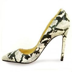 Cheap Christian Louboutin Leather Pigalle Snake Pumps Beige Sale : Christian Louboutin$203.93