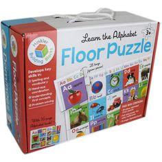 Alphabet Floor Puzzle & Animals Domino   Kids Cool Toys UK