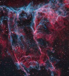 Fiery Owl Nebula