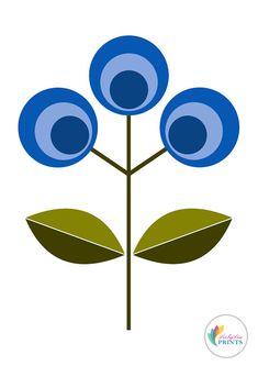 this article is not available - Scandinavian Print Blue Flower Design Flower Pr. this article is not available – Scandinavian Print Blue Flower Design Flower Print – Flower Prints, Flower Art, Scandinavian Art, Mid Century Art, Retro Art, Geometric Art, Doodle Art, Diy Art, Flower Designs