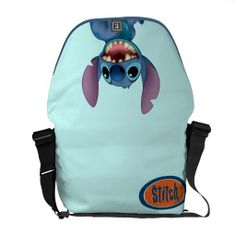 Lilo & Stitch Stitch excited Messenger Bag~~~we should get bethany this! Cute Purses, Purses And Bags, Hipster School Outfits, Lilo Und Stitch, Cute Stitch, Backpack Purse, Stitch Backpack, Cute Backpacks, Cute Disney