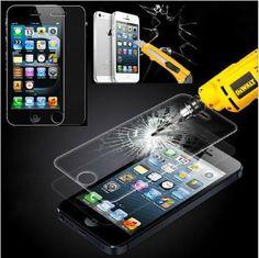 Ultra thin casos protector de pantalla de cristal templado para el iphone 5s iphone 5 caso original capa de fundas para el caso de apple iphone 5s 5c