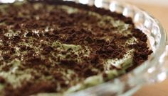 No Bake Cheesecake with Thin Mint Crust from P. Allen Smith
