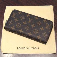 ルイ・ヴィトン【LOUIS VUITTON】 ジッピーウォレット M60017 モノグラム ラウンドファスナー長財布