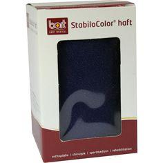 BORT StabiloColor haft Binde 10cm blau:   Packungsinhalt: 1 St Binden PZN: 08829382 Hersteller: Bort GmbH Preis: 6,28 EUR inkl. 19 %…