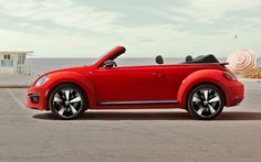 A strong contender.. 2014 Beetle Convertible R-Line with Sound and Navigation