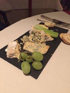 His Cheese Board at Summer Lodge