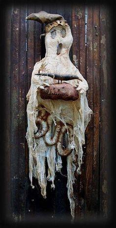 PatternMart.com ::. PatternMart: Halloween Ghost BOO Door Doll