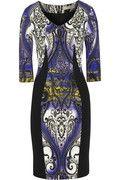 Etro Printed stretch-crepe dress NET-A-PORTER.COM