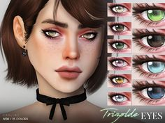 Eyes in 25 colors. Found in TSR Category 'Sims 4 Eye Colors' Sims 4 Cc Eyes, Sims 4 Mm Cc, Sims 4 Game Mods, Sims 4 Mods, Sims 4 Stories, Sims 4 Tsr, The Sims 4 Cabelos, The Sims 4 Packs, Skyrim Mods