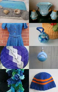 Blue gift ideas --Pinned with TreasuryPin.com
