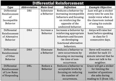 Differential Reinforcement Chart (lg)