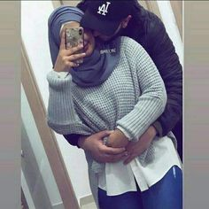 They are so cutee ♡♥ Cute Muslim Couples, Muslim Girls, Cute Couples Goals, Couple Goals, Wedding Couple Quotes, Muslim Beard, Muslimah Wedding Dress, Wedding Dress Sketches, Wedding Couple Poses Photography