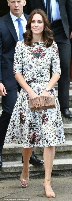 Catherine Duchess of Cambridge in Poland. July 18 2017