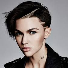 The absolutely gorgeous Ruby Rose