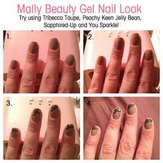 A gorgois gel nail design! Repin if you love #nailart! #MallyMonday XXX