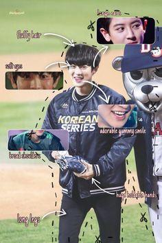 Views in Miroh 🎲 Baekhyun Chanyeol, Park Chanyeol, Face Anatomy, Exo Group, Soft Eyes, Exo Lockscreen, Face Swaps, Fluffy Hair, Black Pink Kpop