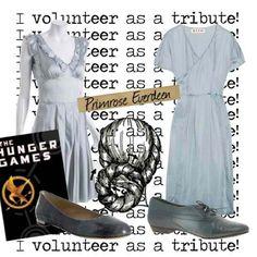 Disneybound Hunger Games.....looks more like Katniss than Prim