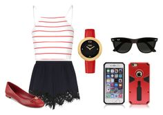 """""""Summer"""" by quality-top on Polyvore featuring Glamorous, Chloé, Ray-Ban, Tommy Hilfiger and Fendi"""