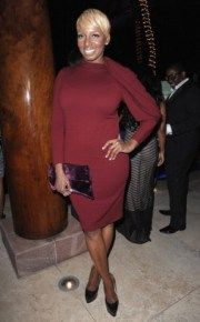 """NeNe Leakes at Bravo's """"Top Chef: All-Stars"""" finale party in Chicago"""