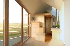 porta palace tiny house - daniel venneman - the netherlands - living area - designfutz