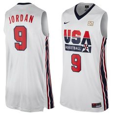 Michael Jordan USA Basketball 1992 Dream Team Basketball Jersey