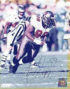 Warren Sapp Autographed Tampa Bay Buccaneers Football 8x10 Photo - Autographed NFL Photos  https://allstarsportsfan.com/product/warren-sapp-autographed-tampa-bay-buccaneers-football-8x10-photo-autographed-nfl-photos/  100% Certified Authentic and Backed by our Sports Memorabilia Authenticity Guarantee Comes with a Certificate of Authenticity from Sports Memorabilia, LLC Category; Autographed NFL Photos