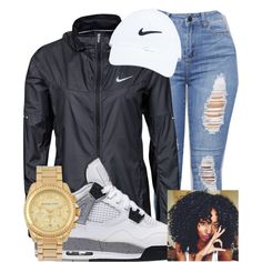 A fashion look from July 2016 featuring NIKE, Michael Kors watches and NIKE hats. Browse and shop related looks.