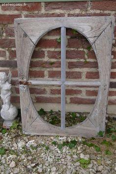 Fenêtre ancienne  Brocante de charme atelier cosy.fr