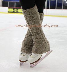 Câble tricoter des jambières Boot Cover 100 % par YingsStudio