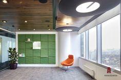 Фото интерьера холла офиса в современном стиле