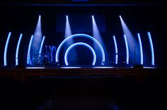 Ribs and Arches from Prairie Lakes Church in Cedar Falls, Iowa | Church Stage Design Ideas