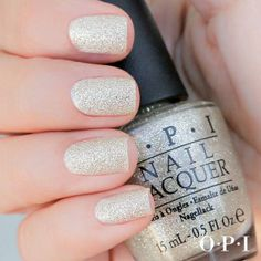 champagne glitter by OPI