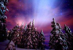 snowy spires