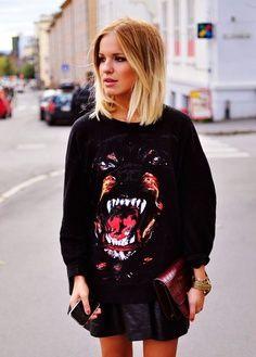 glammed up sweatshirt